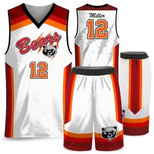 Amped Rainbow Shot Basketball Uniform AFYM-17002