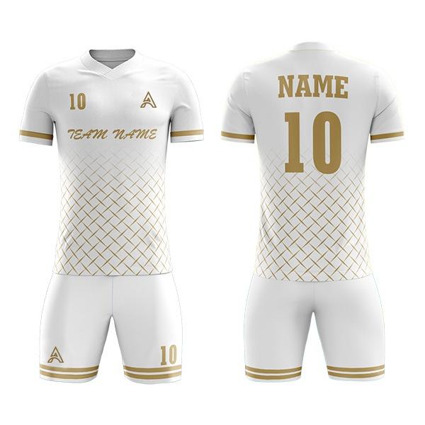 Custom Panels Sublimation Soccer Kit For Club AFYM:2075