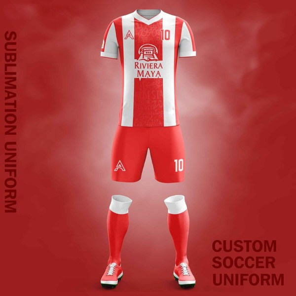 Custom Sublimation Soccer Kits For Club Players AFYM:2082