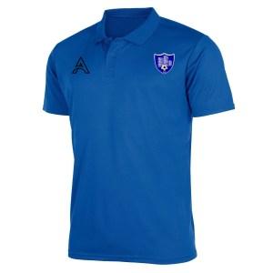 Plain Blue Polo Shirt AFYM-4009