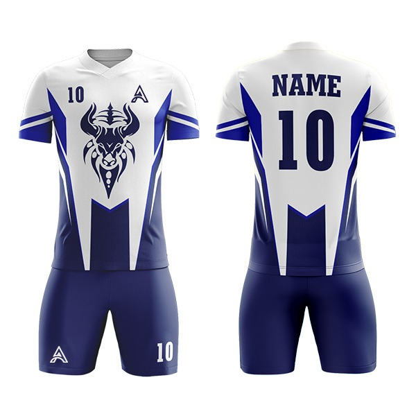 Custom Sublimation Soccer Kit with Animal Icon AFYM:2090