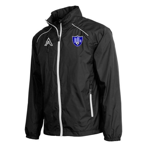 Techno Black Rain Jacket with Shoulder Lining AFYM-6015
