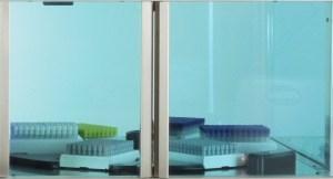 Sterile sample storage tubes