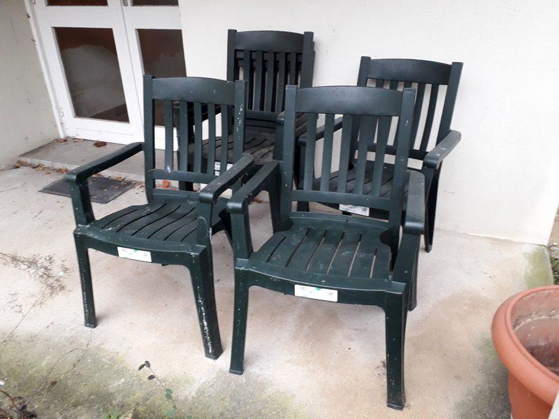 chaise de jardin plastique grosfillex