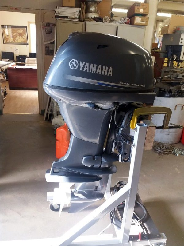 Moteur De Bateau Hors Bord Yamaha 25 Cv Sport D Occasion Aux Encheres Agorastore