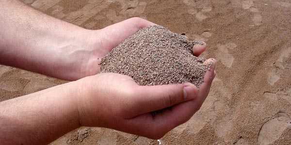 Строительный песок карьерный и речной