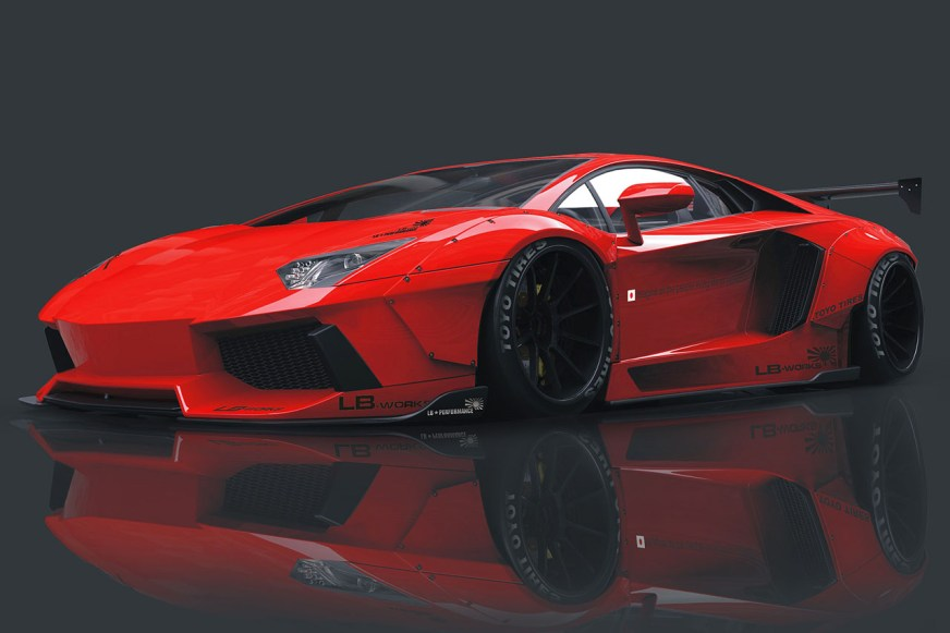 Liberty Walk is going to build a widebody Lamborghini ...