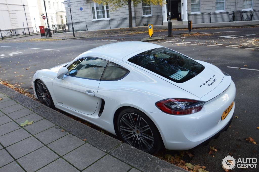 Porsche 981 Cayman GTS 21 October 2014 Autogespot