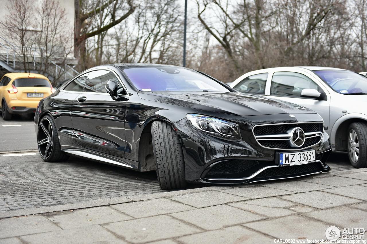 Mercedes Benz S 63 AMG Coup C217 7 Mars 2016 Autogespot