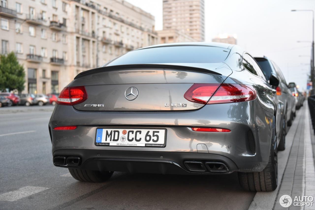 Mercedes AMG C 63 S Coup C205 3 June 2016 Autogespot