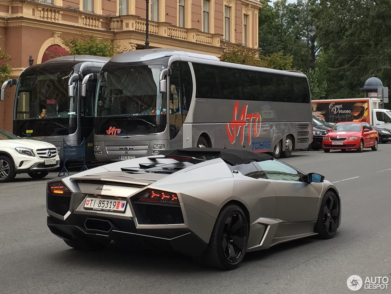 Lamborghini Reventn Roadster 13 August 2016 Autogespot