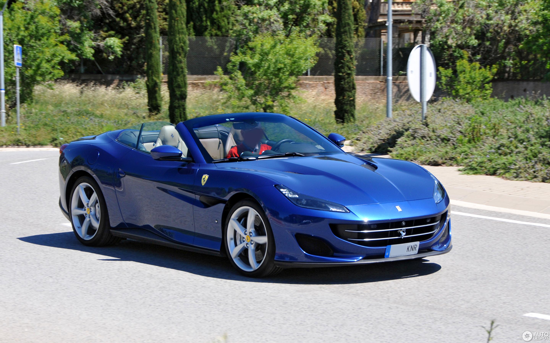 Ferrari Portofino Baby Blue