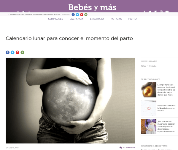Revista digital Bebes y Más