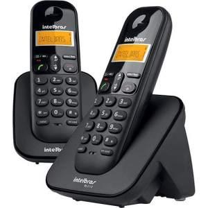 TELEFONE SEM FIO TS3112 PRETO + 1 Ramal