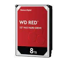 Hdd Wd Red Nas para Servidor 8tb 3.5 Sata - Wd80efax