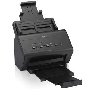 Scanner Brothher Compacto de Mesa Alta Produtividade - Ads3000n