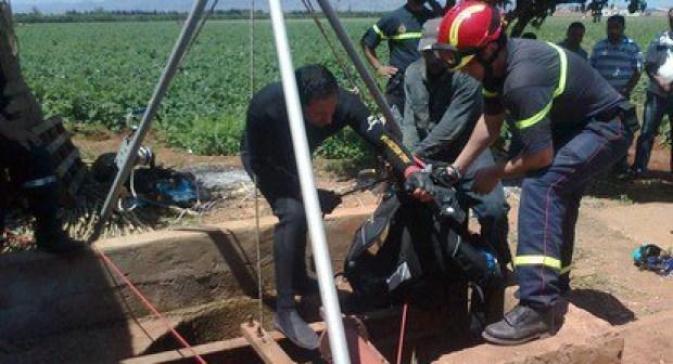 """العثور على جثة """"مخزني"""" في بئر عمقه 190 مترا بتارودانت في ظروف غامضة."""