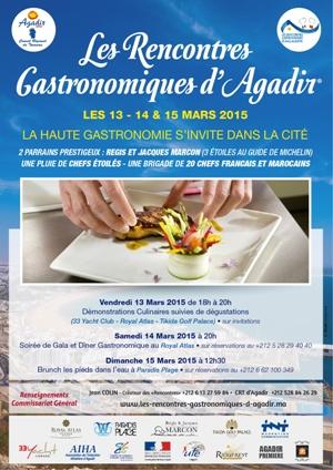 AffichesOK-Rencontre Gastronomiques d'Agadir (1)