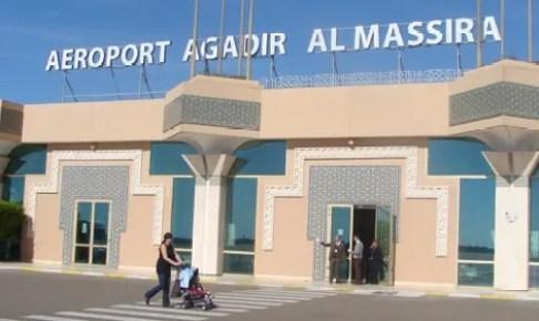 مطار أكادير يتجاوز عتبة 1 مليون مسافر مع نهاية شهر غشت الماضي،