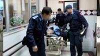 عااجل:انفجار دراجة نارية لرجل أمن خلال قافلة للشرطة متجهة للعيون لتأمين الزيارة الملكية