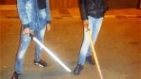 """اعتقال عصابة وسط مدينة انزكان تعترض سبيل المارة باستعمال""""ساطور وسيوف"""""""