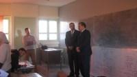 مدير اكاديمية سوس والمدير الاقليمي باكادير يشرفان على انطلاق الامتحان الجهوي لنيل شهادة الدروس الاعدادية