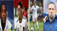أشهر اللاعبين المسلمين في الدوريات الأوربية