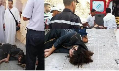 سقوط طالبة من أعلى طابق بالحي الجامعي، و تضارب الأنباء بين الجريمة المدبرة والحادث العرضي