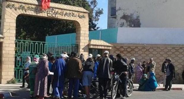 """إحالة """"مول الشارجور"""" الذي تسبب في اندلاع النيران وسط فندق بأكادير على مستشفى الامراض العقلية بإنزكان"""