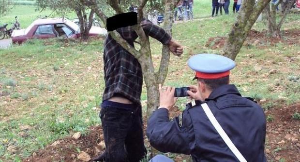 العثور على جثة مستشار جماعي شاب من تارودانت معلقة بشجرة أركان.
