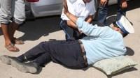 ضابط شرطة سكران يصدم 3 سيارات ويعنف زميله أثناء قيادة سيارته الخاصة