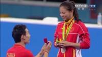 بعد مشاركتها في الأولمبياد..صديقها يستغل الفرصة لطلب الزواج منها أمام الجمهور