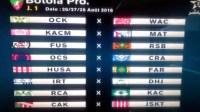 البرنامج الكامل لمباريات حسنية أكادير في مرحلة ذهاب بطولة القسم الاحترافي لموسم 2016/2017
