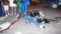 عاجل:سيارة تدهس صاحب دراجة وتتركه بين الحياة والموت بين انزكان وايت ملول