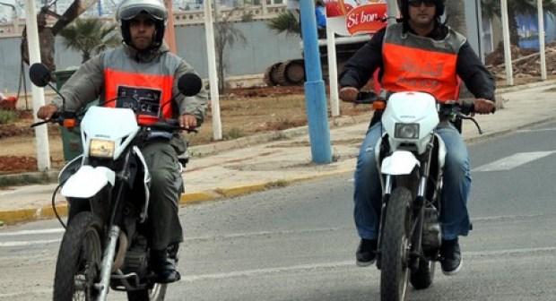 فرقة الدراجين تضع حدا لنشاط مروع النساء بأكادير بسرقاته المتكررة.