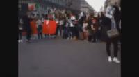 شاهد احتجاج الفتيات المغربيات تضامنا مع سعد المجرد