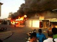 """""""محطم عاطفيا"""" يضرم النار في ممتلكات الحي انتقاما من المجتمع!"""