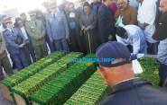 عاجل :5 جثت ضحايا محرقة أمسكرود تخرج من مستودع الاموات باكادير