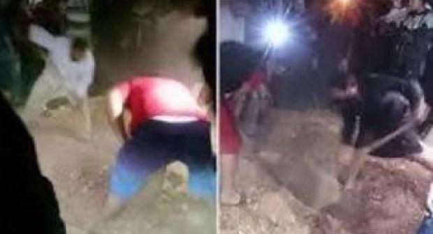 بعد أن شارك في جنازتها .. حفر القبر ليلا أخرج الفتاة وقام باغتصابها + تفاصيل وحقائق صادمة