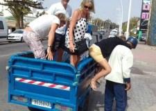 """شوهة: نقل السياح ب:""""تريبورتور"""" بأكادير يخلق ضجة كبيرة بين المهنيين و رواد العالم الأزرق"""