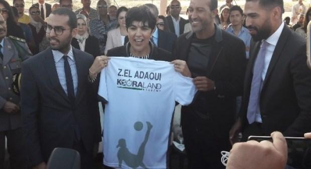 """بالصور:مصطفى حجي يفتتح أكاديميته لكرة القدم تحمل اسم """"كورة لاند"""" بأكادير"""