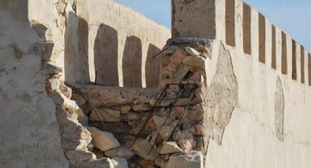 """قصبة """"أكادير أوفلا"""":أحجار بلا تاريخ، تفقد الهوية الحضارية."""