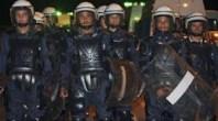 انتهاء المواجهة في امزورن بين الأمن و المحتجين بروح رياضية و تبادل العناق والتسامح!!