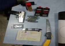 خطير بالصور:هذا ما حجزته جمارك أكادير بمطار المسيرة…مسدس ودخيرة ومواد أخرى خطيرة