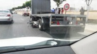 عااجل وبالصور: شاحنة ترسل مواطنا إلى المستشفى بين الحياة و الموت بإنزكان