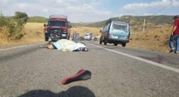 تيزنيت : حادثة سير مميتة تنهي حياة طفل بجماعة أربعاء الساحل