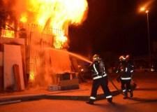 حريق مهول بأكادير يستنفر الأجهزة الرسمية.