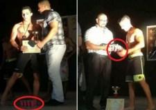 """مهزلة.(+صور): أبطال يتوجون بجائزة """"الإهانة"""" فريدة من نوعها، في مسابقة وطنية بأكادير"""