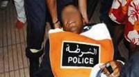 شرطي يطعن زميله في العنق بشارع الحسن الثاني قرب القصر الملكي، ومديرية الحموشي تدخل على خط القضية.