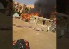 أكادير24 تنفرذ بنشر فيديو الحريق المهول الذي حول مساكن قصديرية بأكادير إلى رماد.